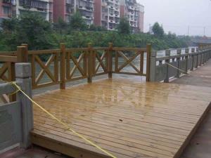 热博rb88登录厂家承建安装施工户外亲水平台